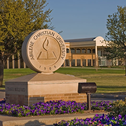 University Entrance with Academic Logo