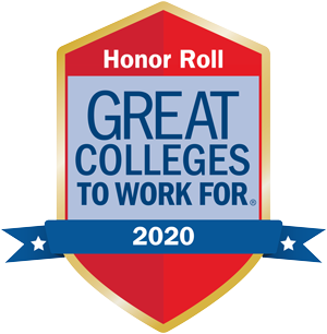 Great Colleges To Work For Honor Roll - 2020