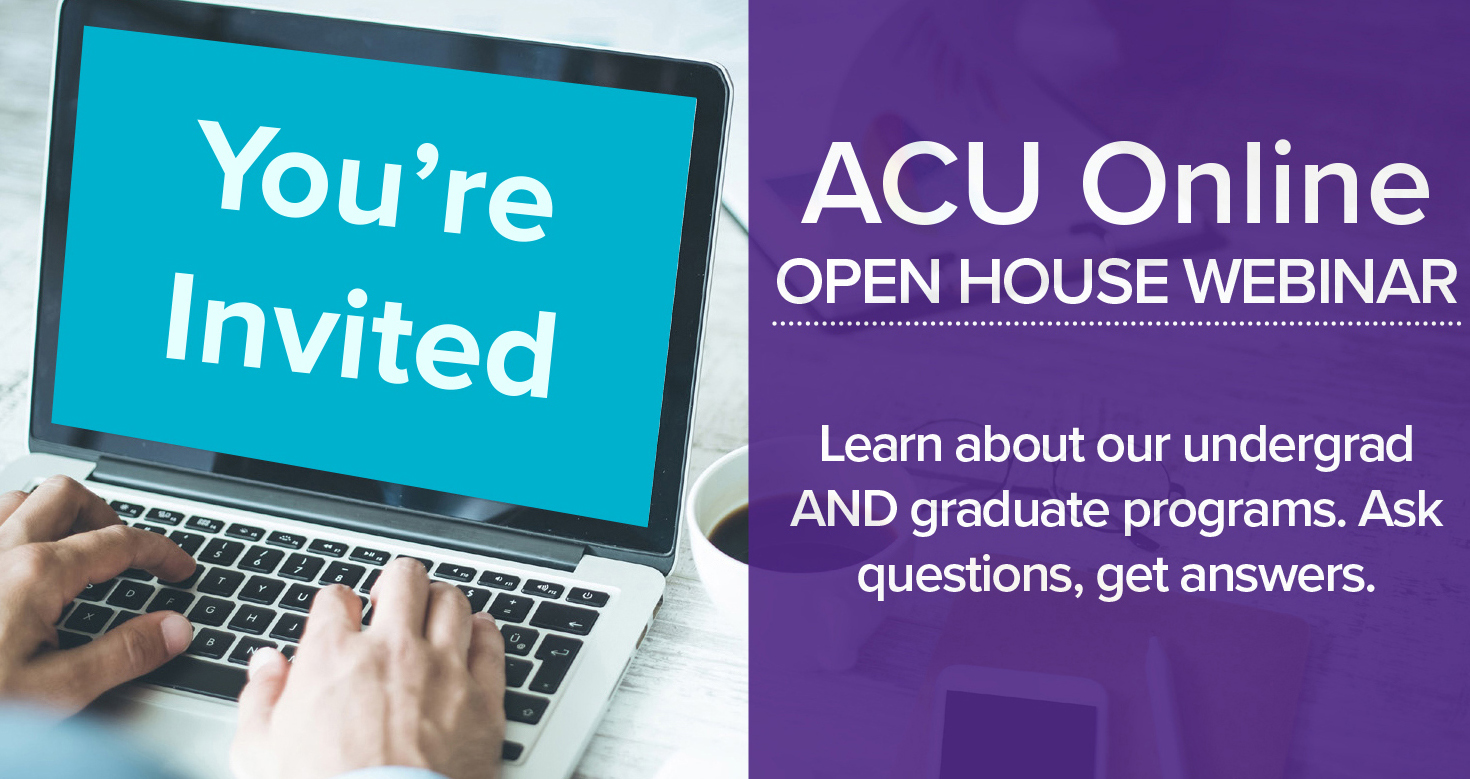 Open House Webinar, Learn about our programs, March 28th at 6:30pm