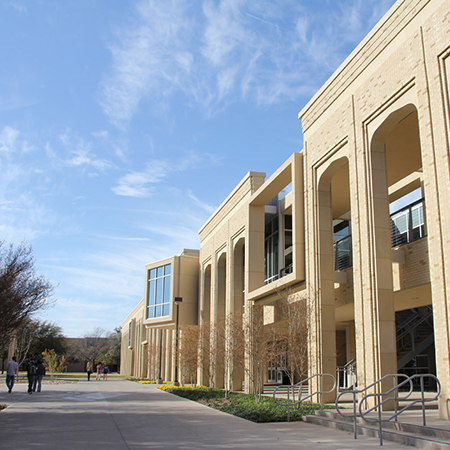 Exterior of the Money Student Recreation and Wellness Center
